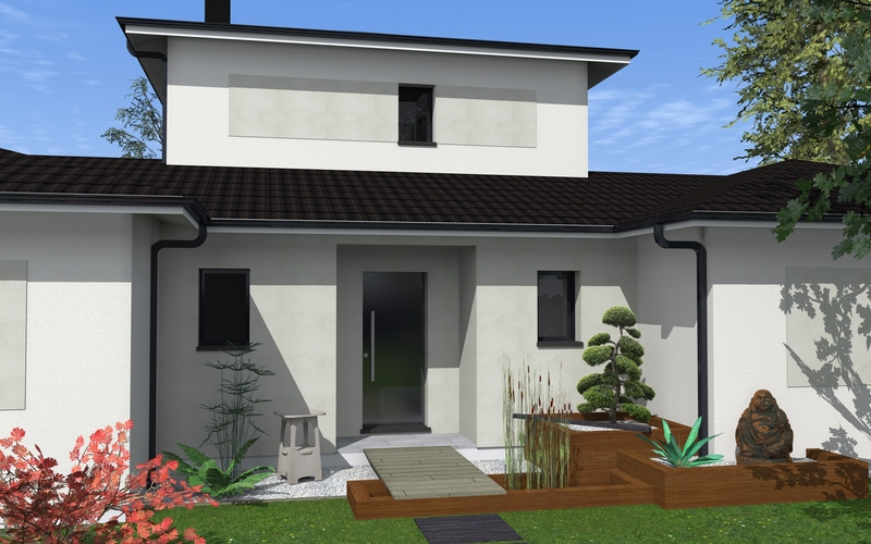 maison tage partiel maisons bati sud. Black Bedroom Furniture Sets. Home Design Ideas