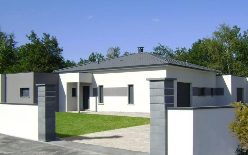 maison moderne toit tuile