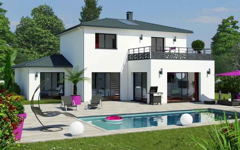 mod le maeva maisons bati sud. Black Bedroom Furniture Sets. Home Design Ideas