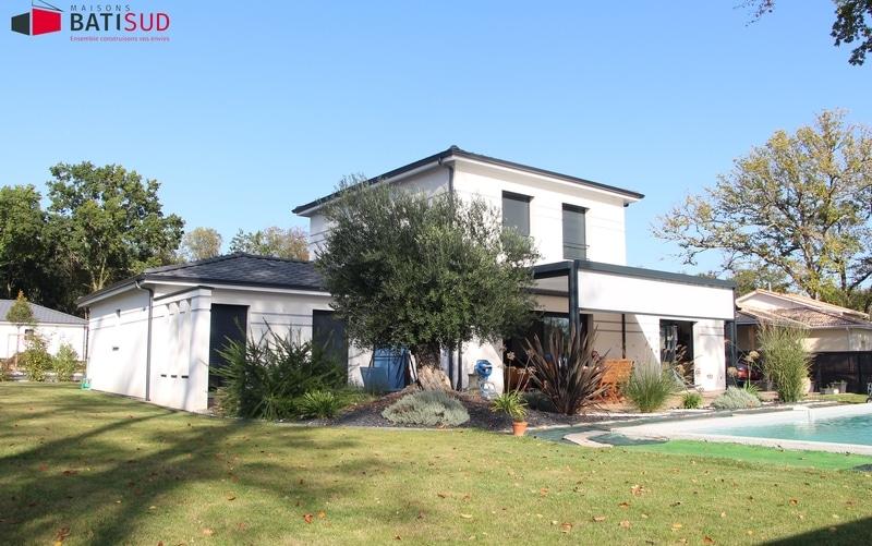 maison moderne étage partiel - Maisons Bati Sud