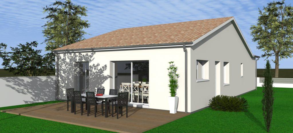 lot3 sth aps3 3d vue 1 maisons bati sud. Black Bedroom Furniture Sets. Home Design Ideas