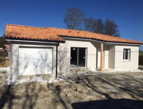 Bati Sud présente son chantier de maison neuve à Cavignac.