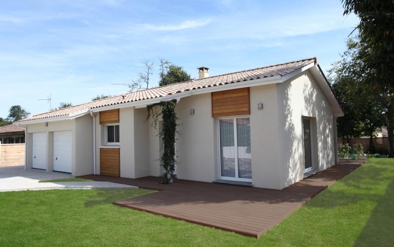 Maison avec bardage bois red cedar-04