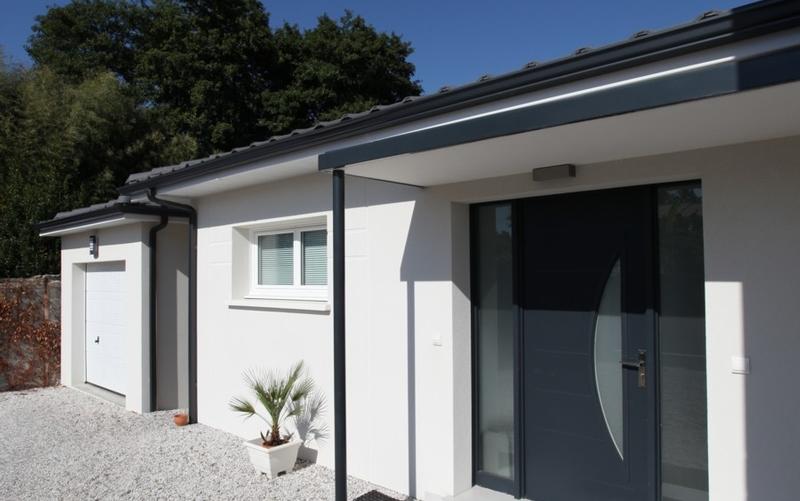 maison contemporaine grise ventana blog. Black Bedroom Furniture Sets. Home Design Ideas