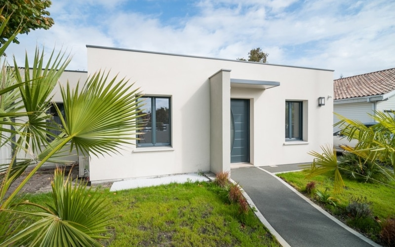 maison toit plat maisons bati sud. Black Bedroom Furniture Sets. Home Design Ideas