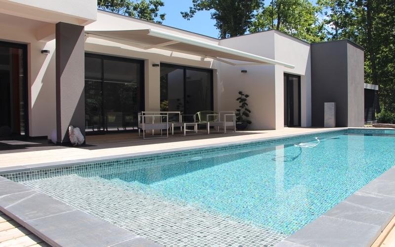 maison moderne toit terrasse de 150 m² - modèle TILLA ...