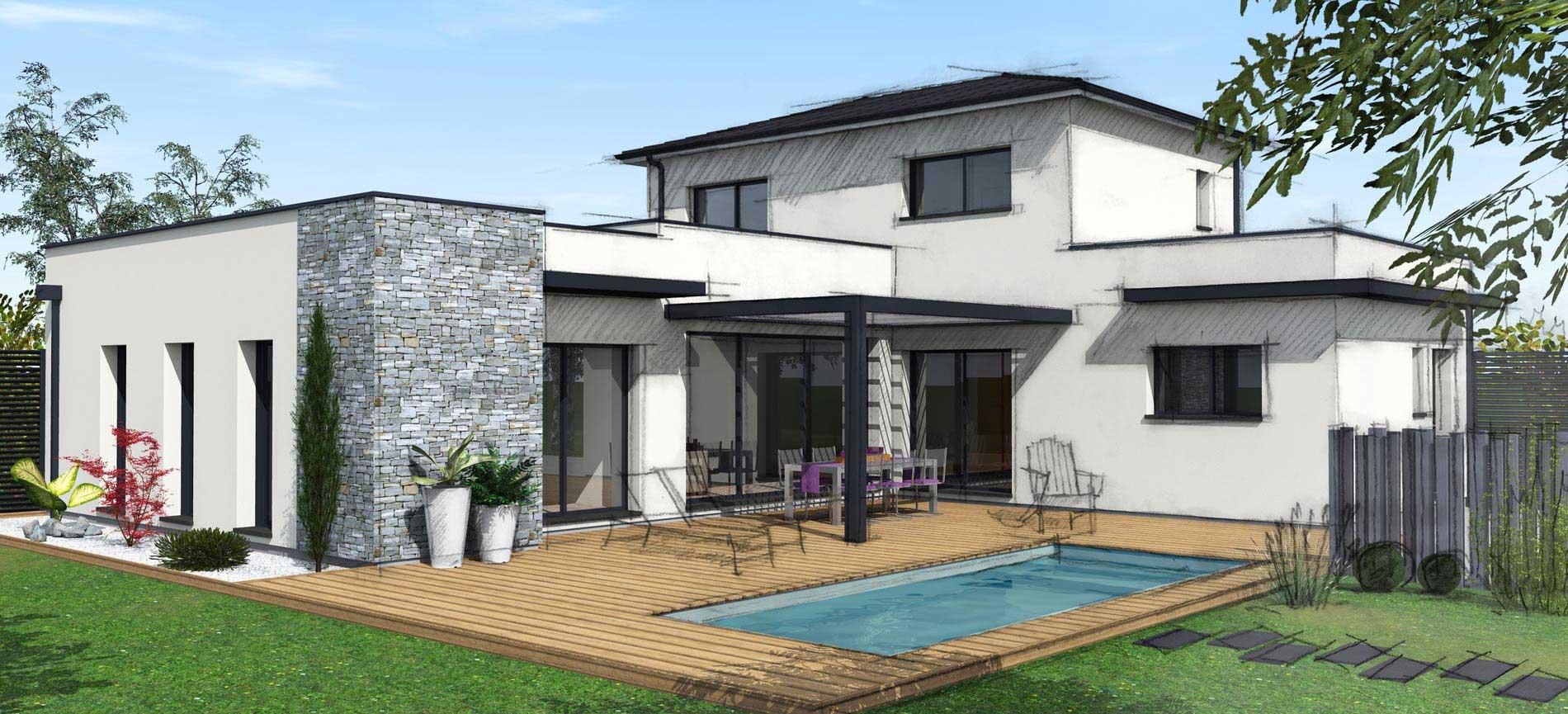maisons bati sud constructeur maison individuelle. Black Bedroom Furniture Sets. Home Design Ideas