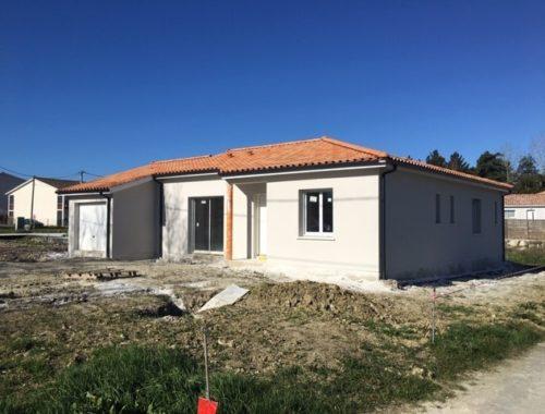 Bati Sud : chantier maison à Cavignac - 15