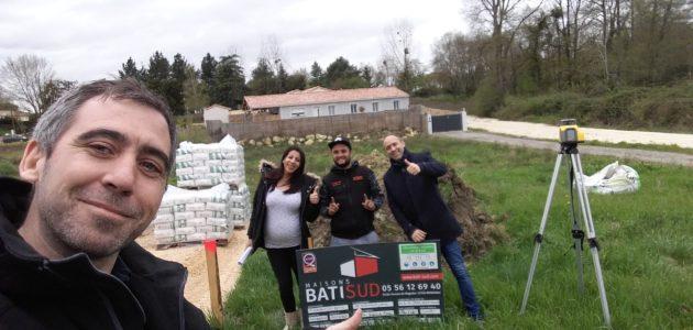 Bati Sud : chantier maison à Cavignac - 4