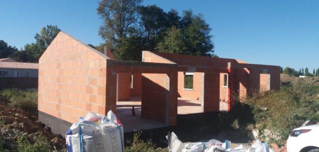 Bati Sud : chantier maison à Cavignac - 35