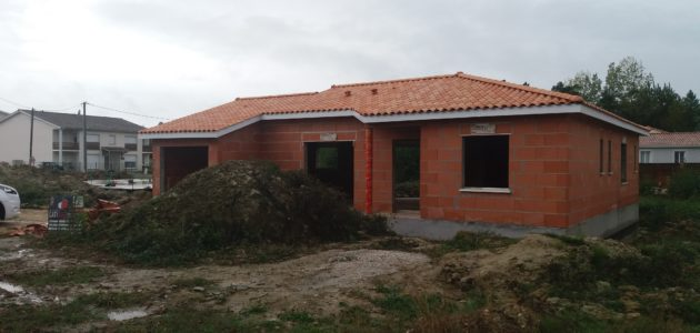 Bati Sud : chantier maison à Cavignac - 31