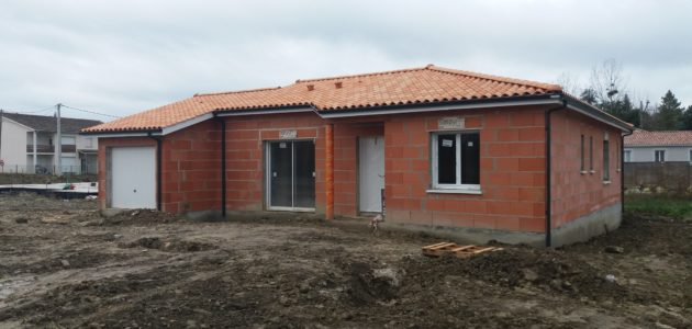 Bati Sud : chantier maison à Cavignac - 22