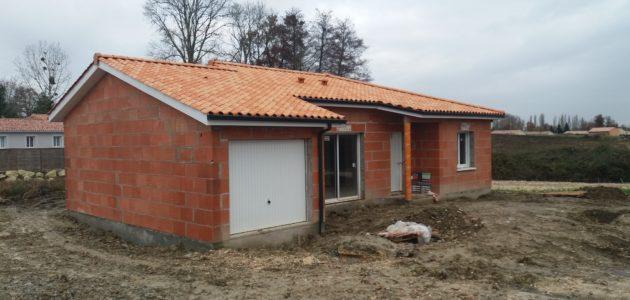 Bati Sud : chantier maison à Cavignac - 20