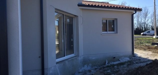 Bati Sud : chantier maison à Cavignac - 16