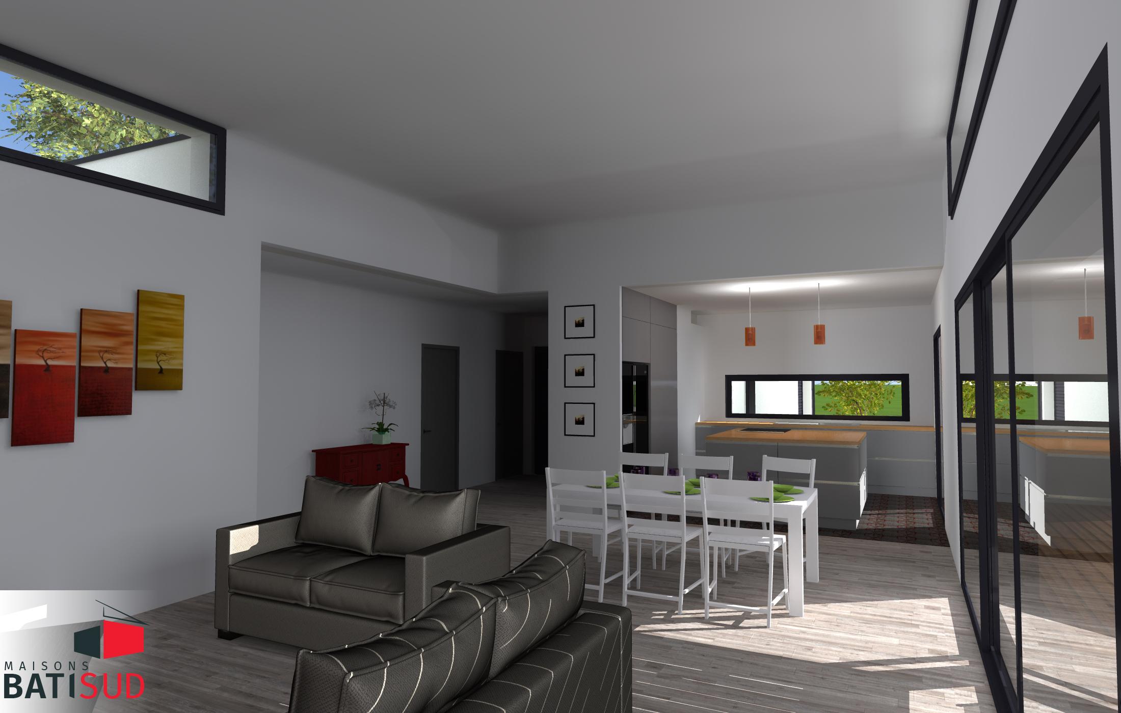 magnifique maison sur mesure avec pergola proche bordeaux. Black Bedroom Furniture Sets. Home Design Ideas