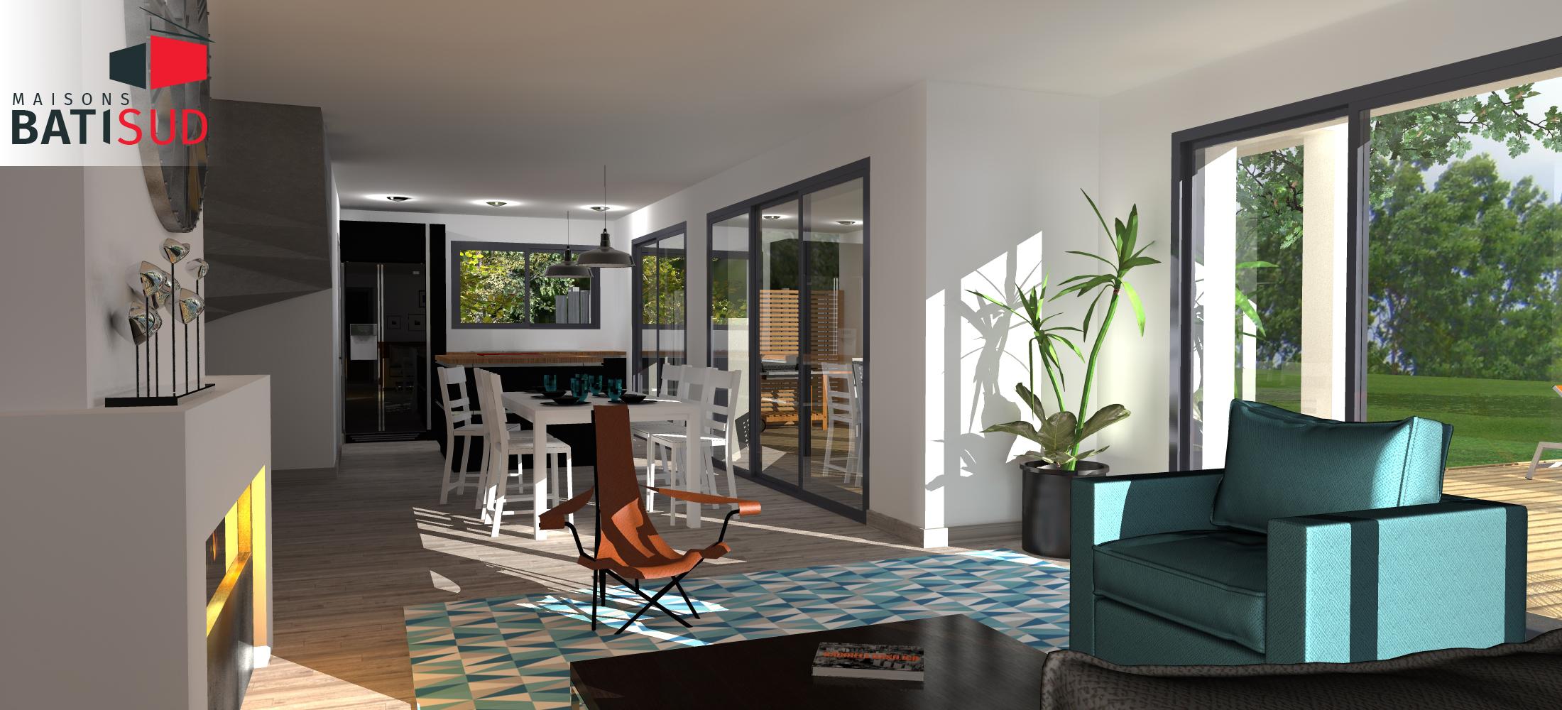 Maisons Bâti Sud : Nouvelle maison contemporaine à La-Teste-de-Buch - 3