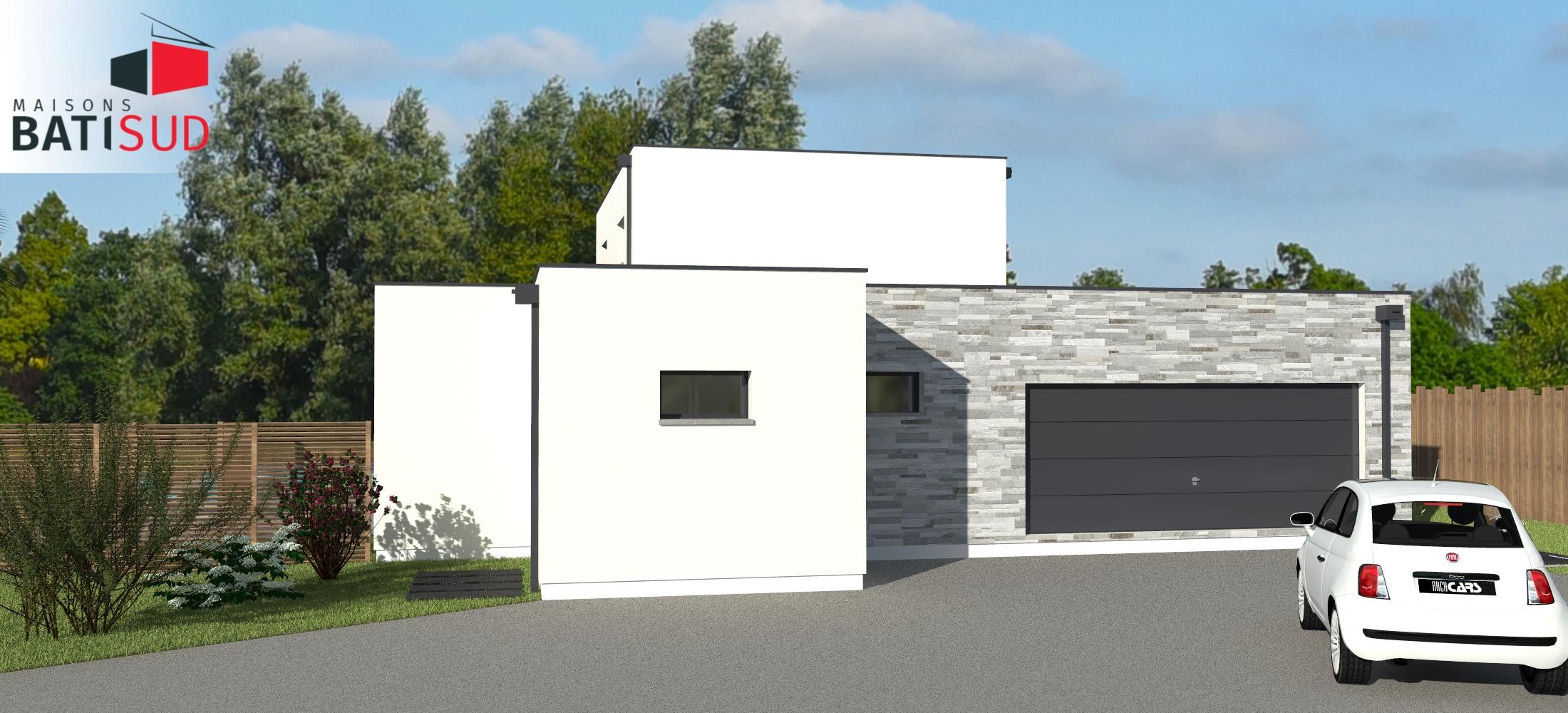 bati sud maison sur mesure pessac maisons bati sud. Black Bedroom Furniture Sets. Home Design Ideas
