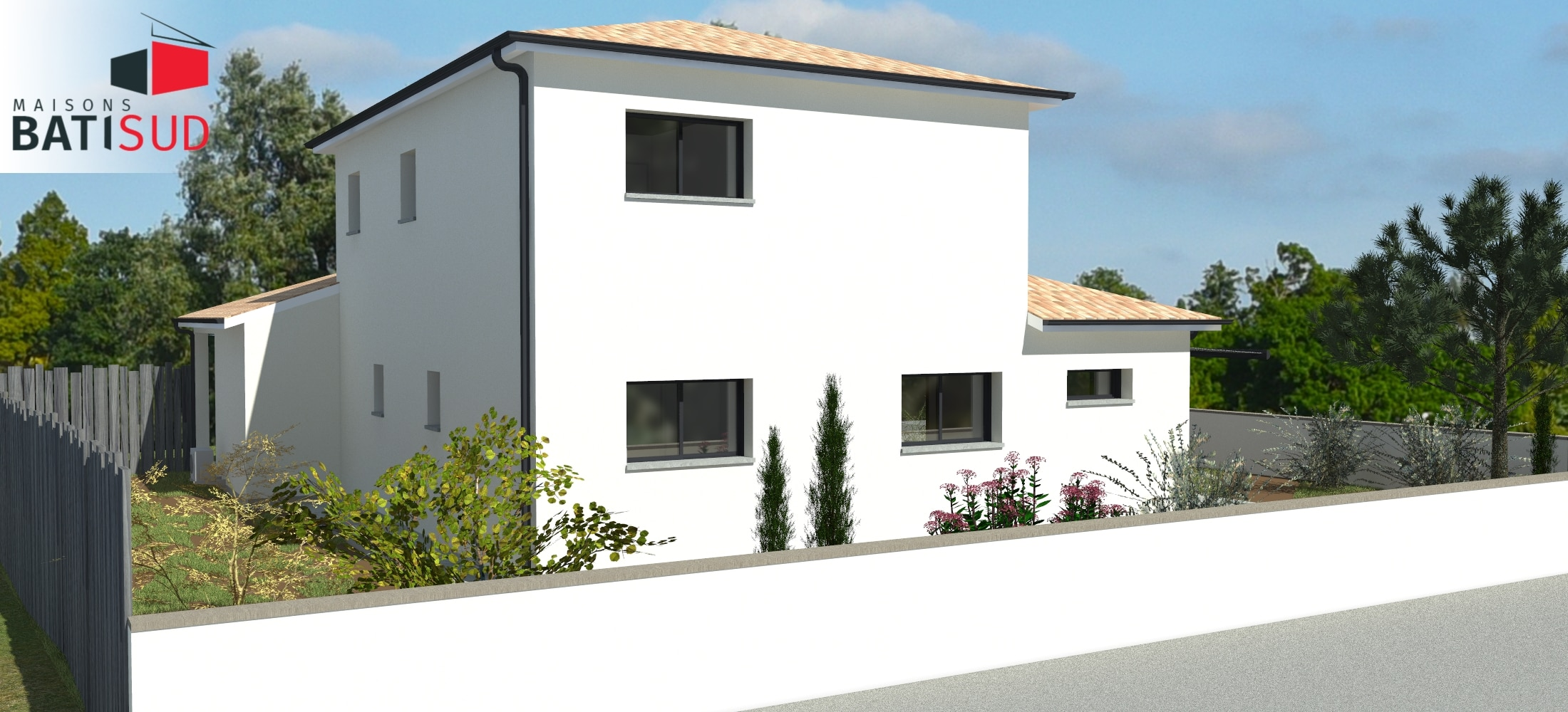 maison bati sud saint m dart construction 2 maisons bati sud. Black Bedroom Furniture Sets. Home Design Ideas