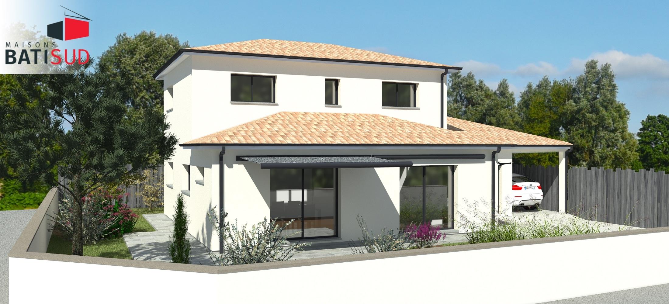 maison bati sud saint m dart construction home maisons. Black Bedroom Furniture Sets. Home Design Ideas