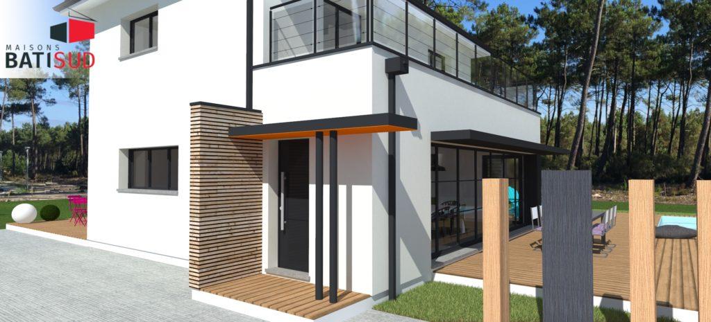 maisons bati sud construction andernos 1 maisons bati sud. Black Bedroom Furniture Sets. Home Design Ideas