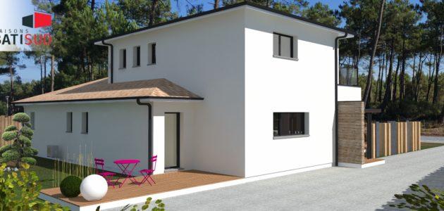 maisons Bati Sud Andernos - construction 2