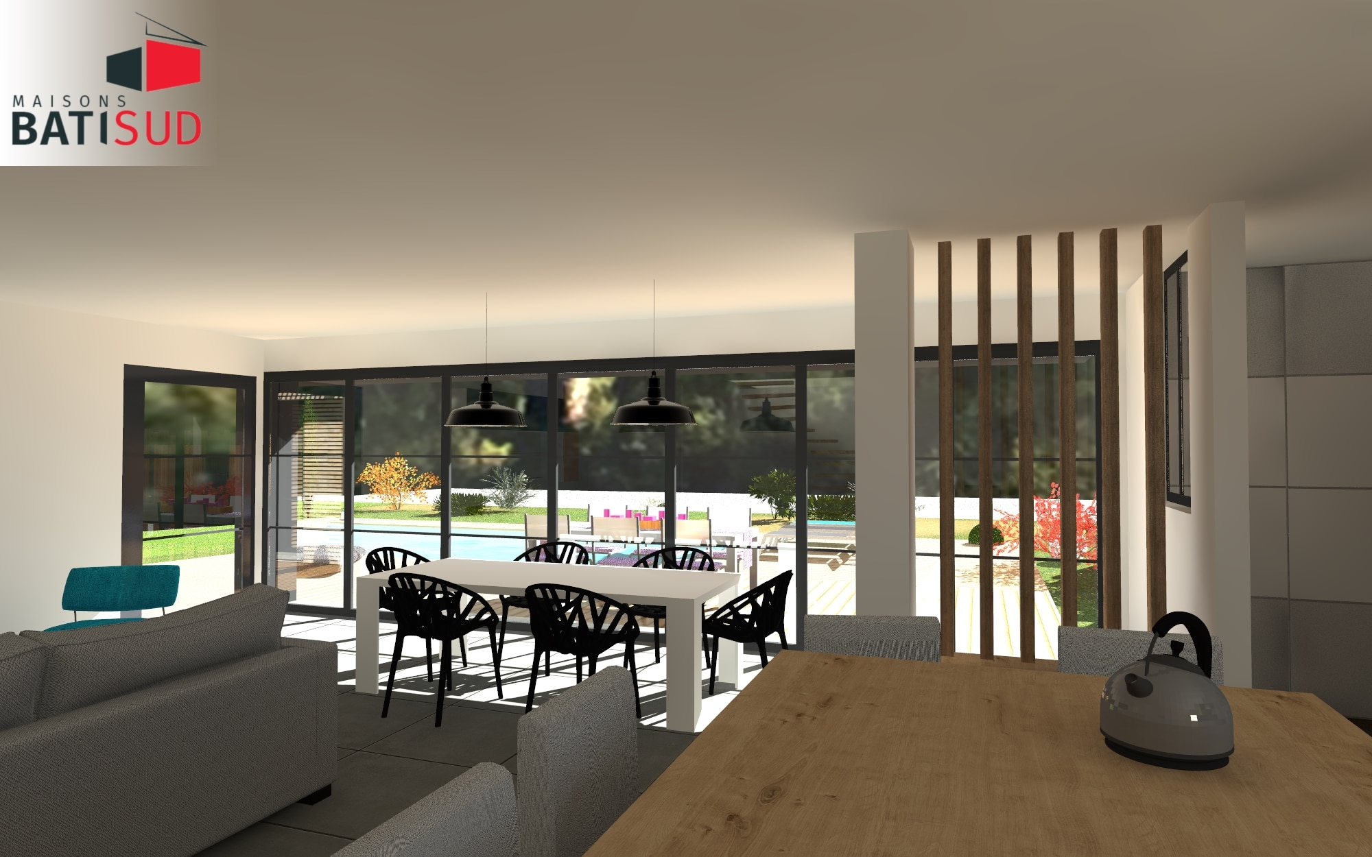 maisons bati sud construction andernos 3 maisons bati sud. Black Bedroom Furniture Sets. Home Design Ideas