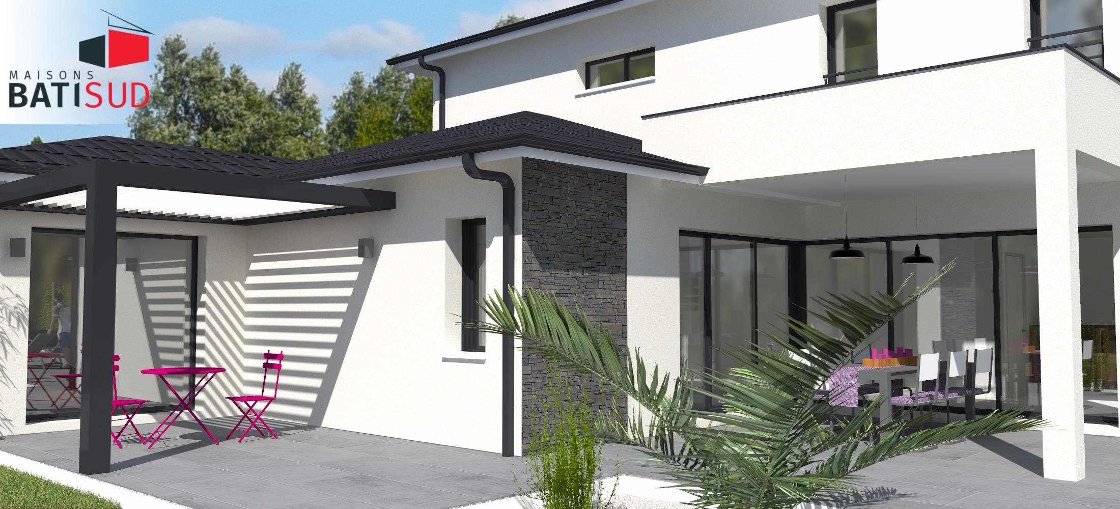 Maisons Bati Sud : Maison avec étage de 215m² à Pessac - 2