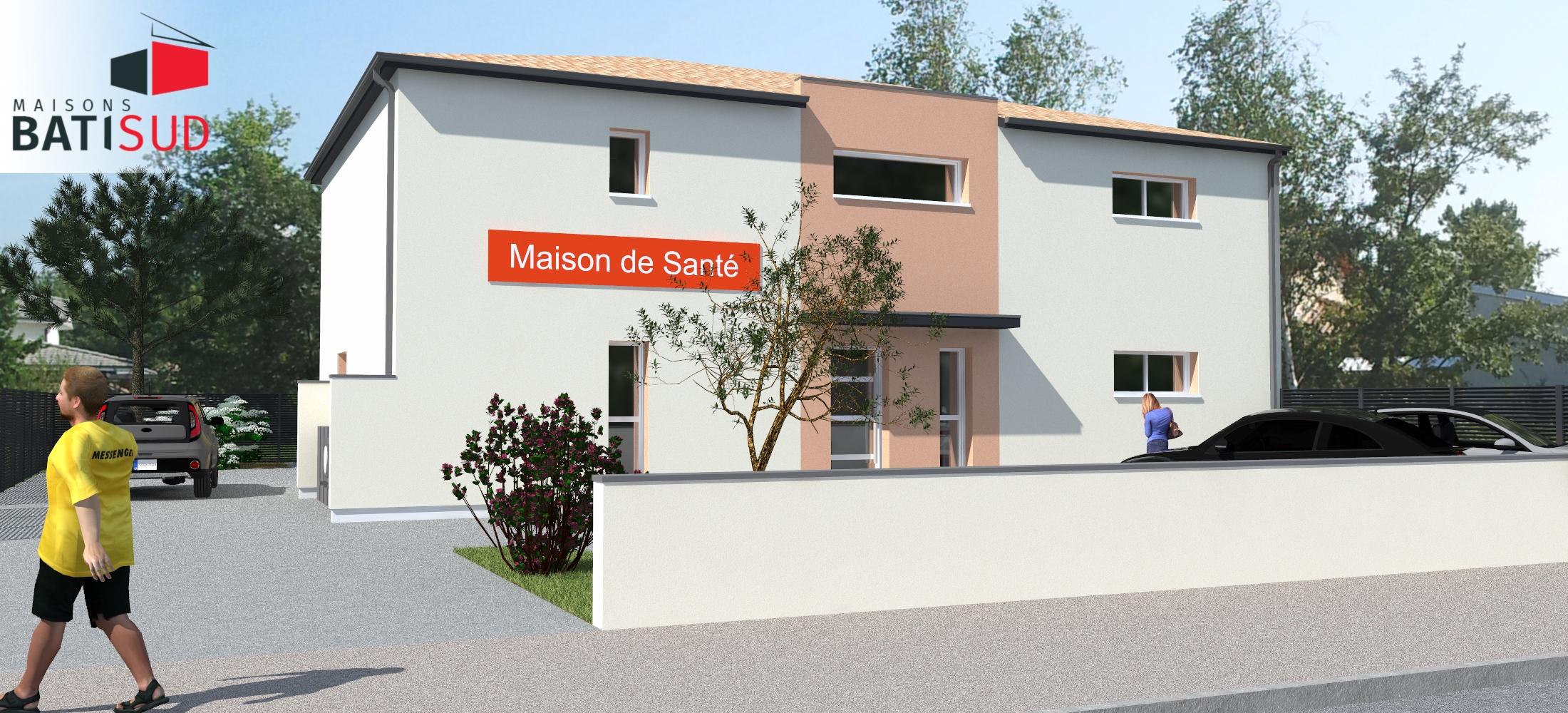 Maisons Bati Sud : Maison de santé pluridisciplinaire à Langon