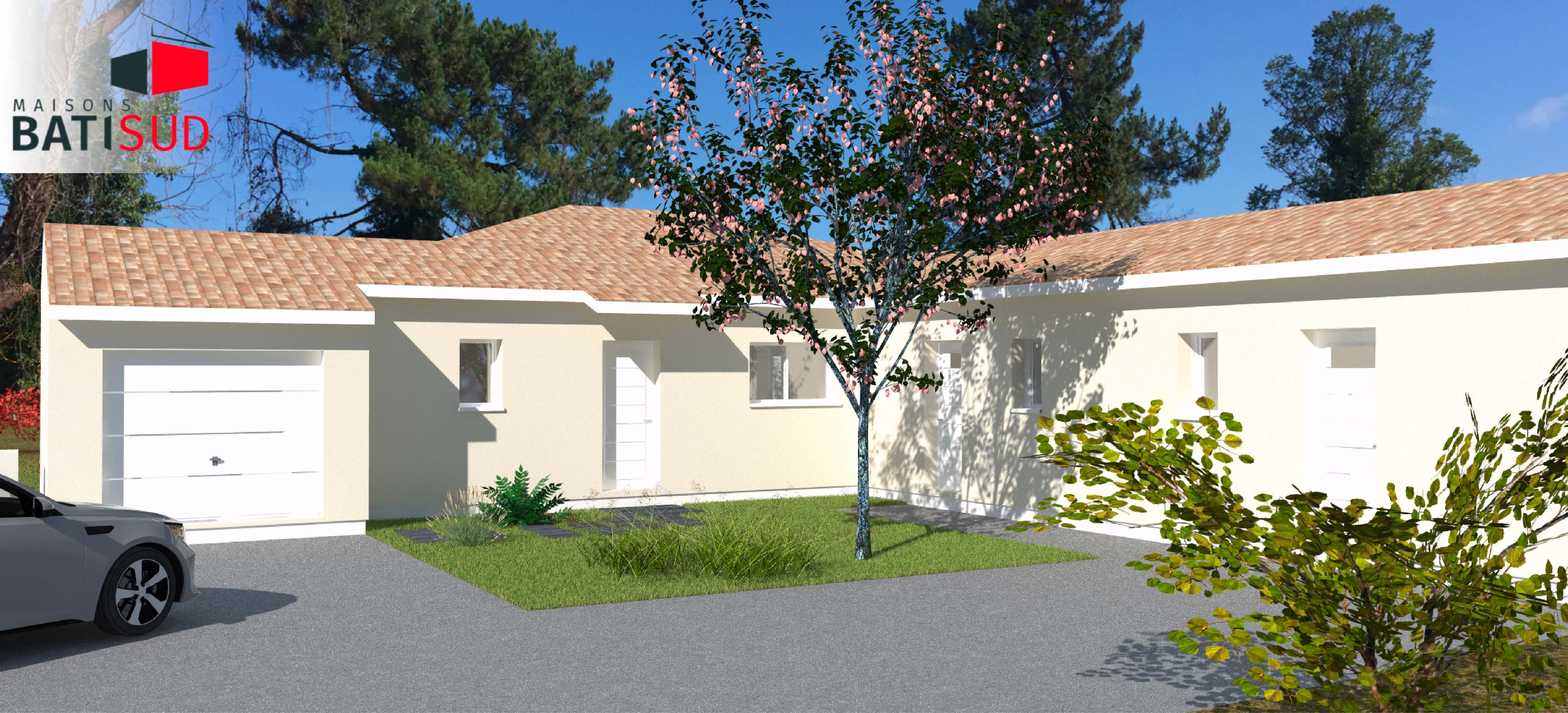 Maisons Bati Sud : permis de construire accepté à Hourtin- Garage