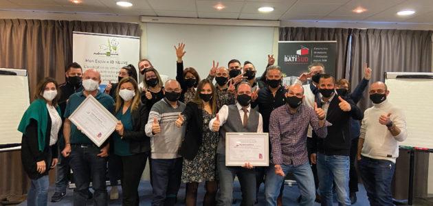 MAISONS BATI SUD : Certification Maisons de Qualité reconduite ! Photo de groupe