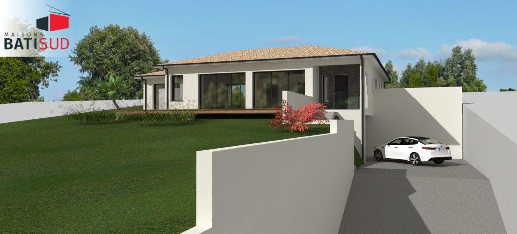 Maisons Bati Sud : Maison sur mesure à Pompignac - 1