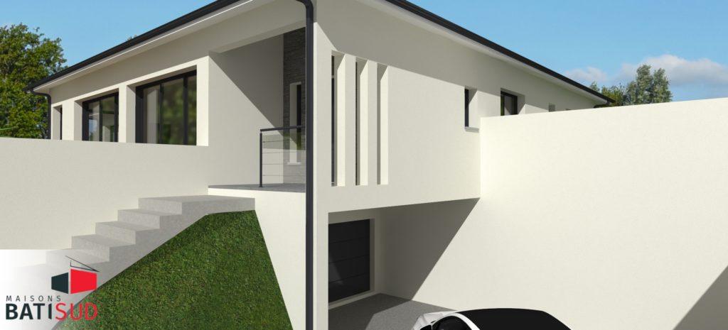 Maisons Bati Sud : Maison sur mesure à Pompignac - 2