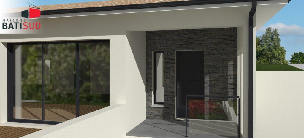 Maisons Bati Sud : Maison sur mesure à Pompignac - 3