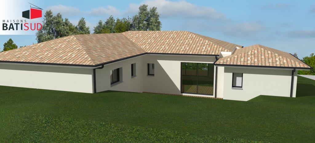 Maisons Bati Sud : Maison sur mesure à Pompignac - 4