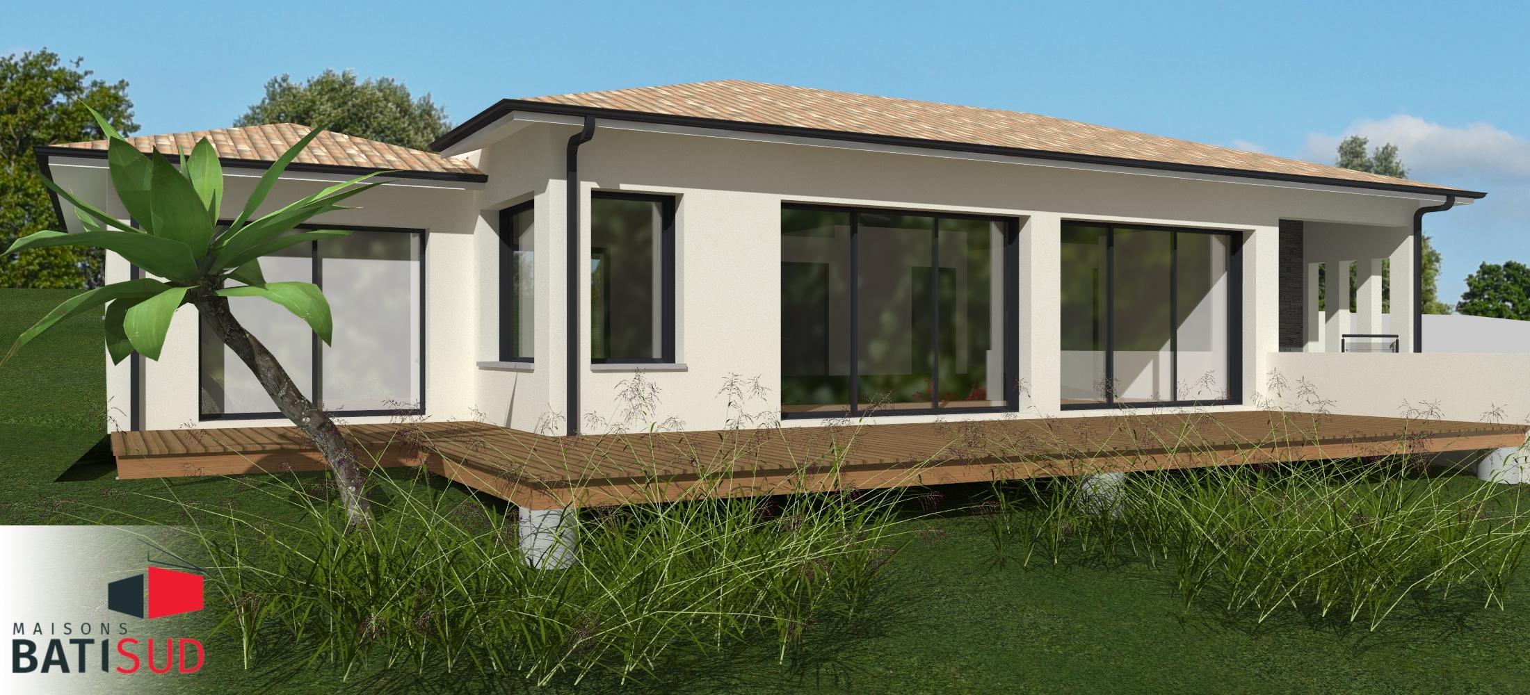 Maisons Bati Sud : Maison sur mesure à Pompignac