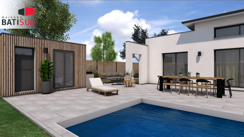 Maisons Bati Sud : maison 100% sur mesure à Saint-Aubin-du-Médoc - 3