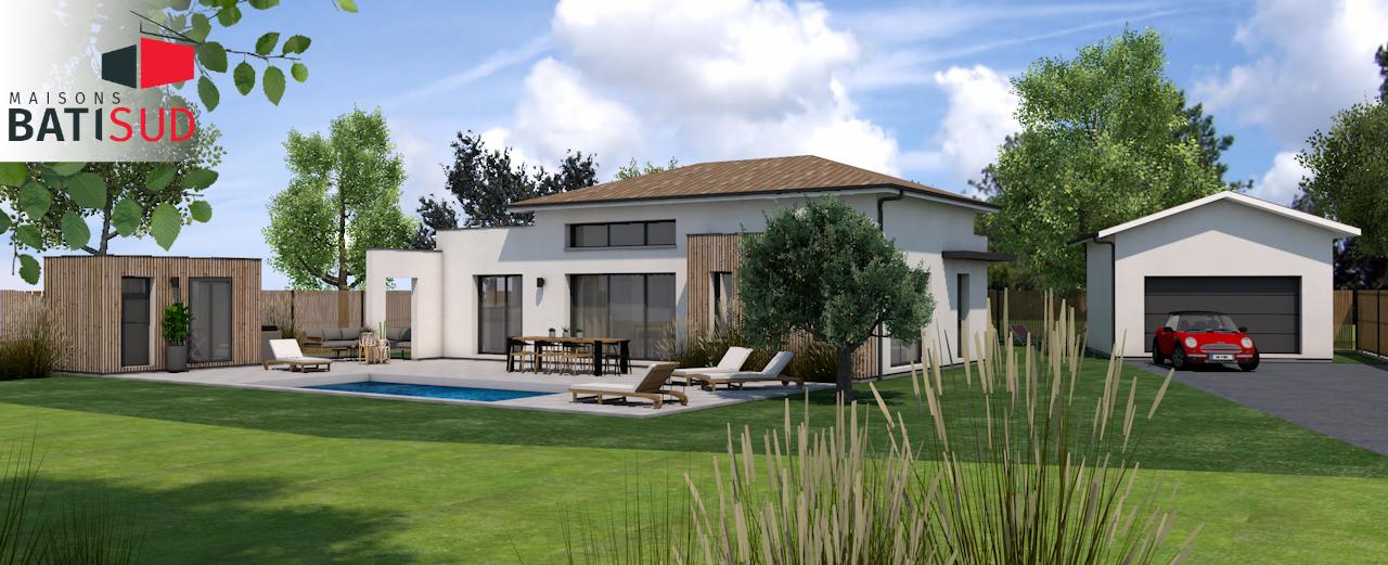 Maisons Bati Sud : maison 100% sur mesure à Saint-Aubin-du-Médoc