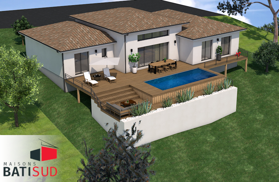 Maisons Bati Sud : maison 100% sur mesure à Saint-Aubin-de-Branne