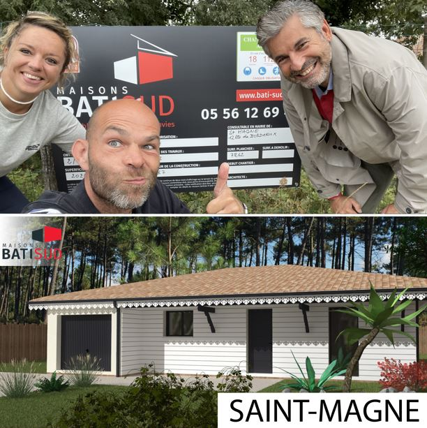 MAISONS BATI SUD : Nouvelles ouvertures de chantierde l'été - Saint Magne