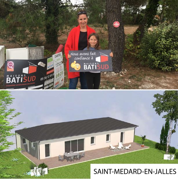 MAISONS BATI SUD : Nouvelles ouvertures de chantierde l'été - Saint Medard en Jalles